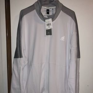 Adidas Mens 2XL 3M zip up jacket NWT